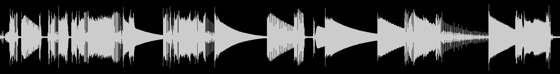 ラジオ、静的、有資格者; DIGI...の未再生の波形