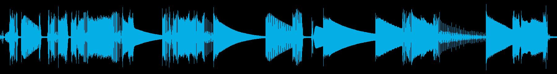 ラジオ、静的、有資格者; DIGI...の再生済みの波形