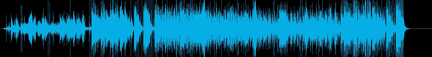 浮遊感のあるエモーショナルエレクトロニカの再生済みの波形