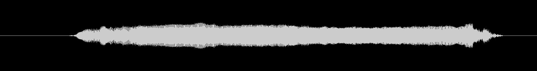 鳥 イーグルコール03の未再生の波形