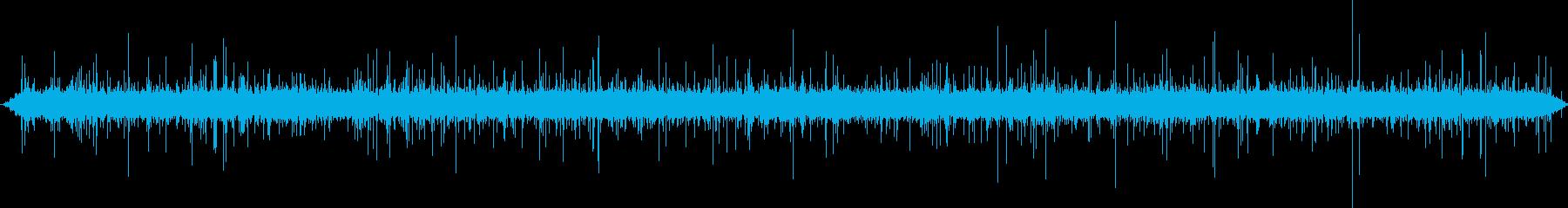 バブリングブルック:ミディアムフロ...の再生済みの波形