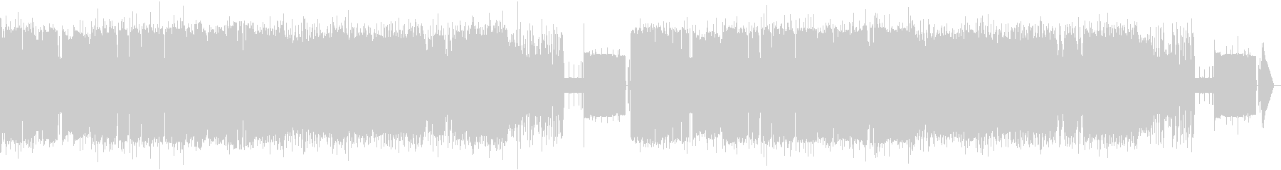 【8bit】白鳥の湖 情景 第2幕10番の未再生の波形