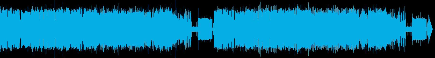 【8bit】白鳥の湖 情景 第2幕10番の再生済みの波形