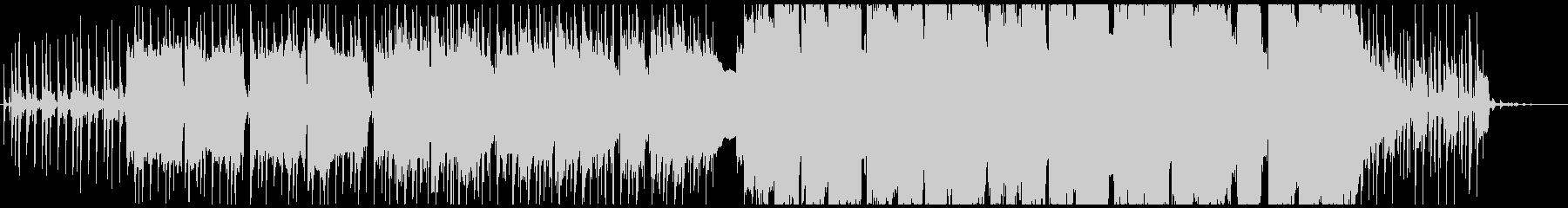 機械の街イメージのゆったりめシンセBGMの未再生の波形