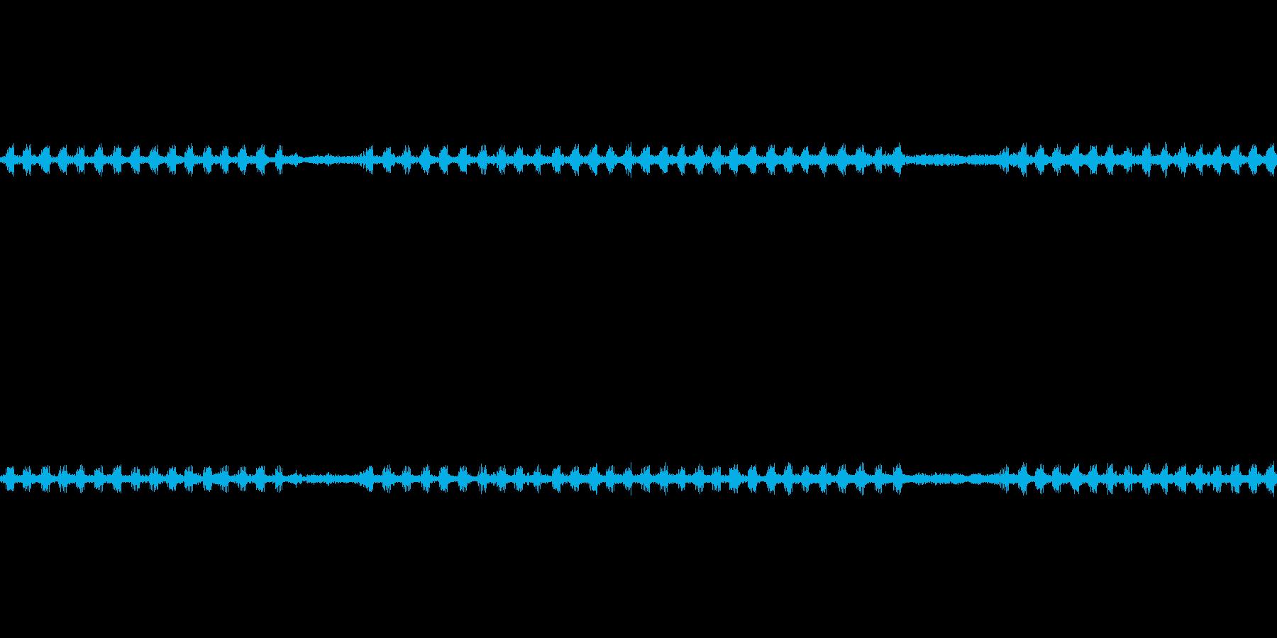 鈴虫の鳴く環境音 ループ仕様の再生済みの波形