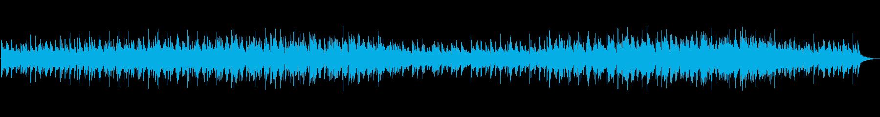 【リズム無し】秋の夜の心落ち着くアコギBの再生済みの波形