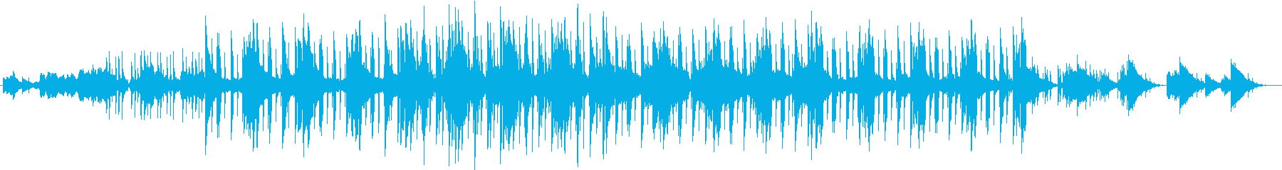 レトロ ゆっくり 魅惑 電気ピアノ...の再生済みの波形