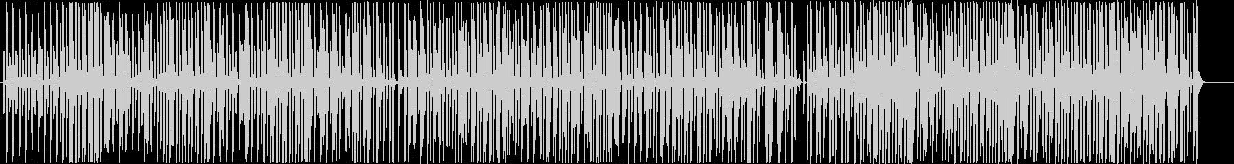 ピアノと鉄琴のコンビ。ほのぼの散歩気分の未再生の波形