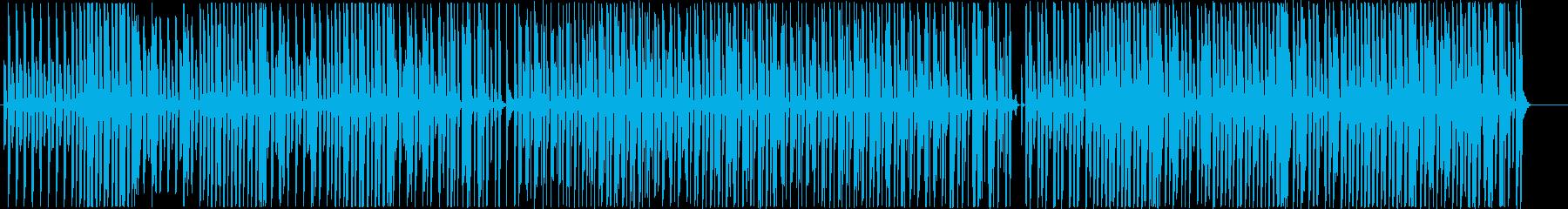 ピアノと鉄琴のコンビ。ほのぼの散歩気分の再生済みの波形
