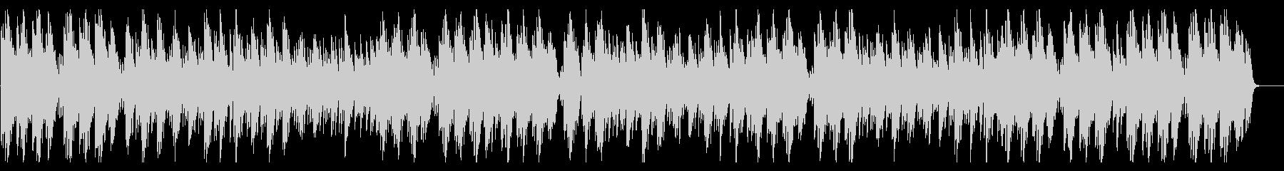 優しいピアノソロ風BGMの未再生の波形