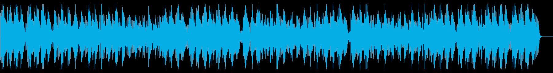 優しいピアノソロ風BGMの再生済みの波形