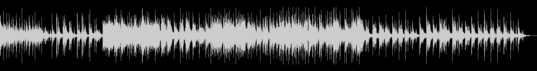 【ピアノ】上品で美しいメロディー・ラインの未再生の波形