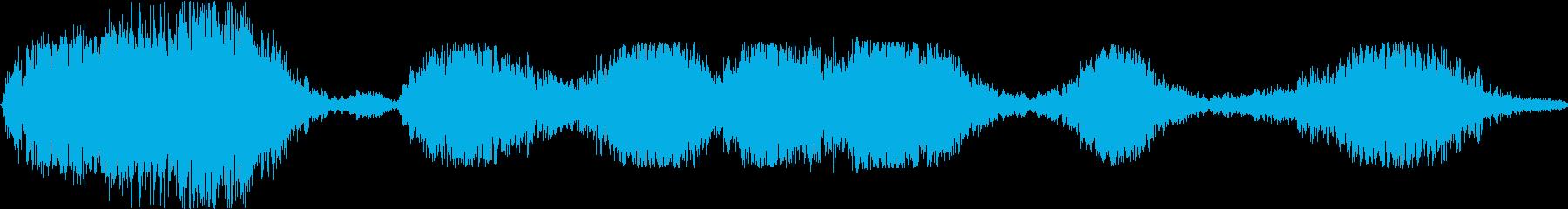 ロックとストーンのデブリ、さまざま...の再生済みの波形
