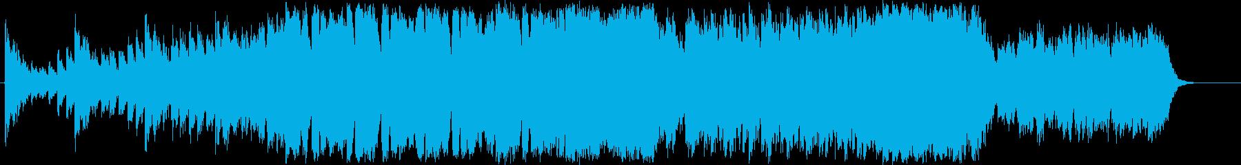 火山の脅威をテーマにした音楽の再生済みの波形