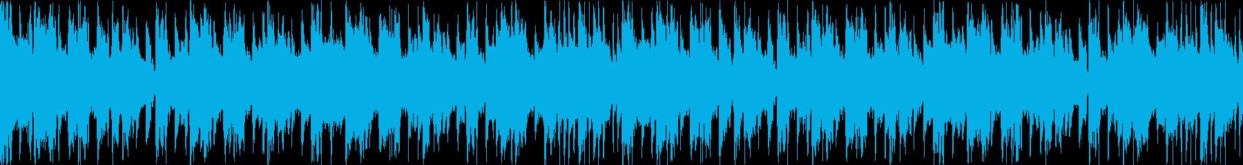 若々しさのあるファンキーなBGMの再生済みの波形