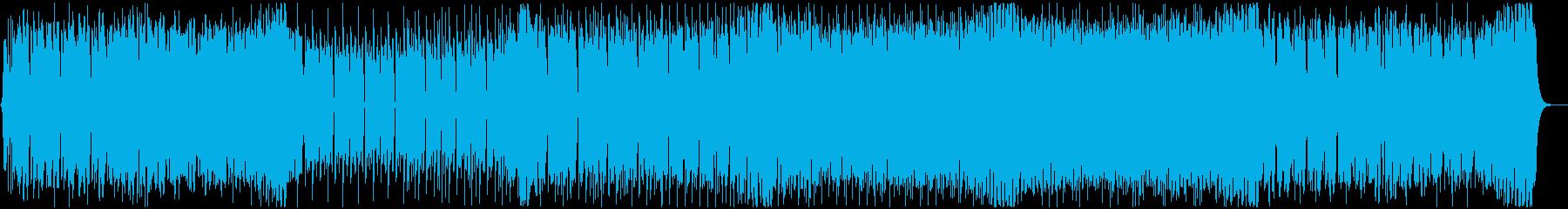 夏にテンション上がるEDM 声有りの再生済みの波形