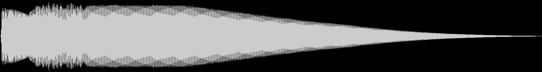 Pure ピュアでクリアなタッチ音 Bの未再生の波形