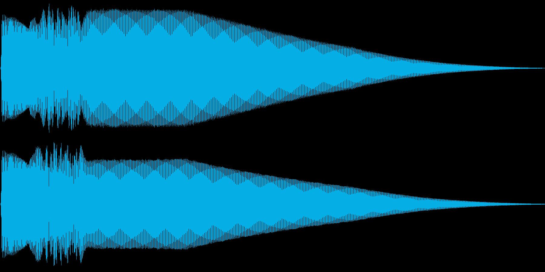 Pure ピュアでクリアなタッチ音 Bの再生済みの波形