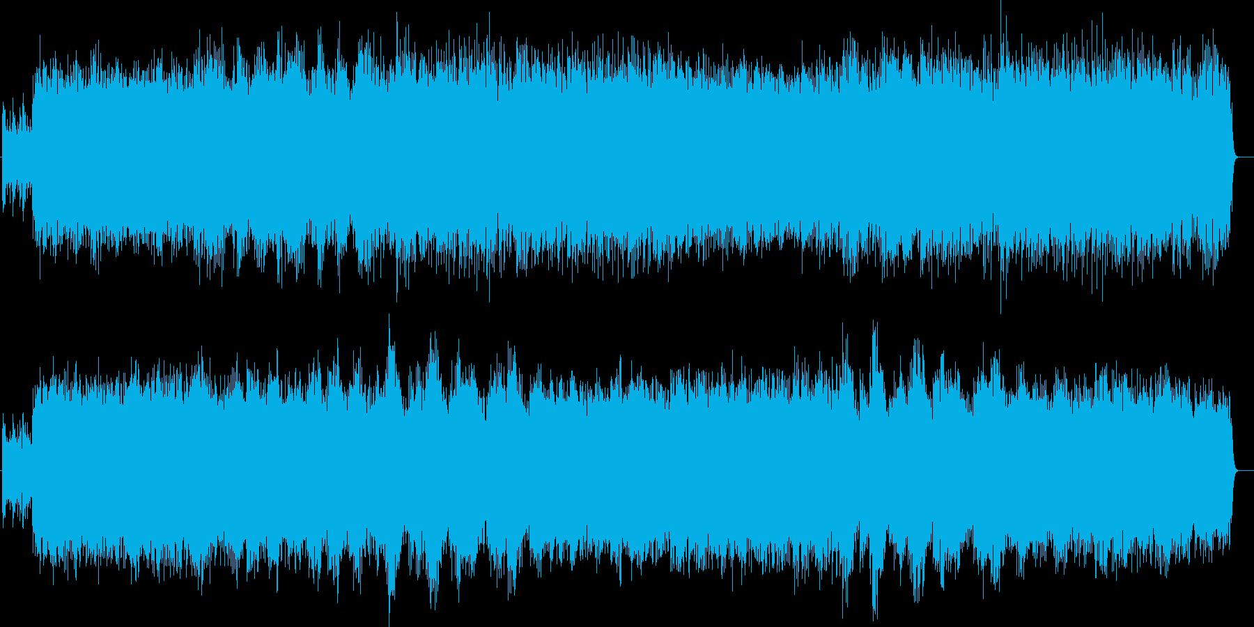 リラックスできるクラシカルミュージックの再生済みの波形