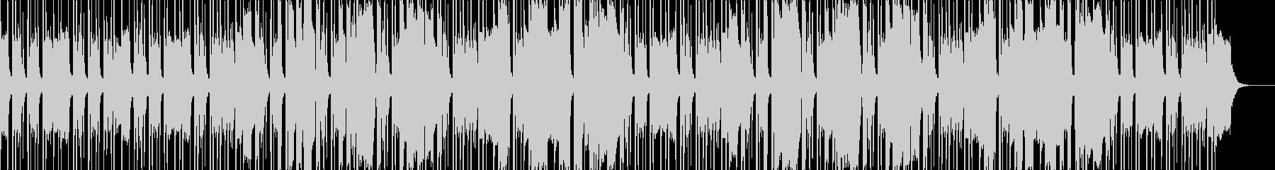 落ち着いたJazzyウッドベースサックスの未再生の波形