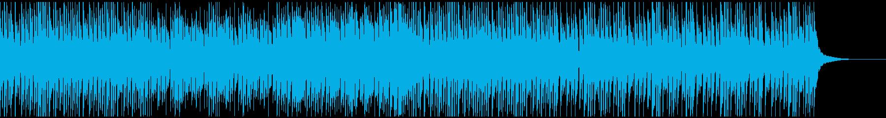キュートで爽やかでシンプルな曲の再生済みの波形