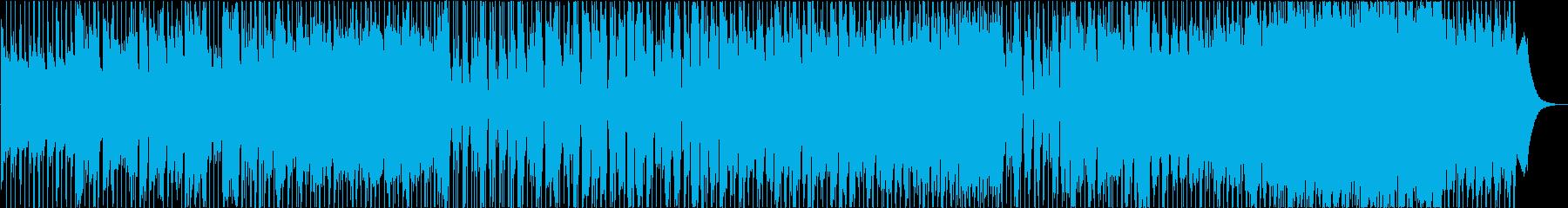 ターミナルの再生済みの波形