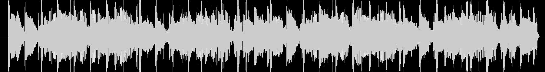 90sR&B風ジングルの未再生の波形