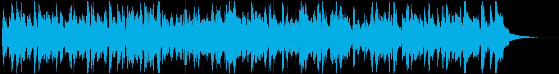 15秒ジャズサンバテナーサックス◆CMにの再生済みの波形