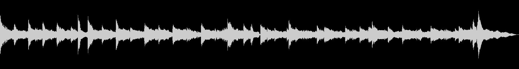 ピアノソロ レクイエム風の未再生の波形