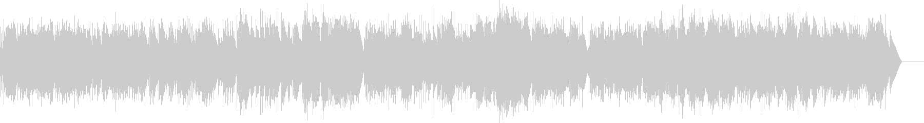 アイネクライネ 第4楽章 (オルゴール)の未再生の波形