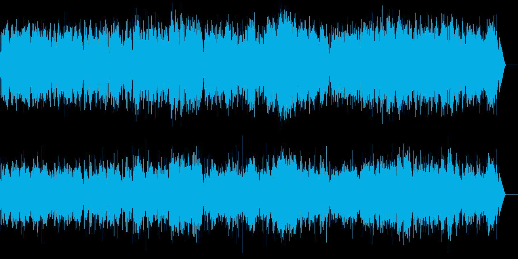 アイネクライネ 第4楽章 (オルゴール)の再生済みの波形