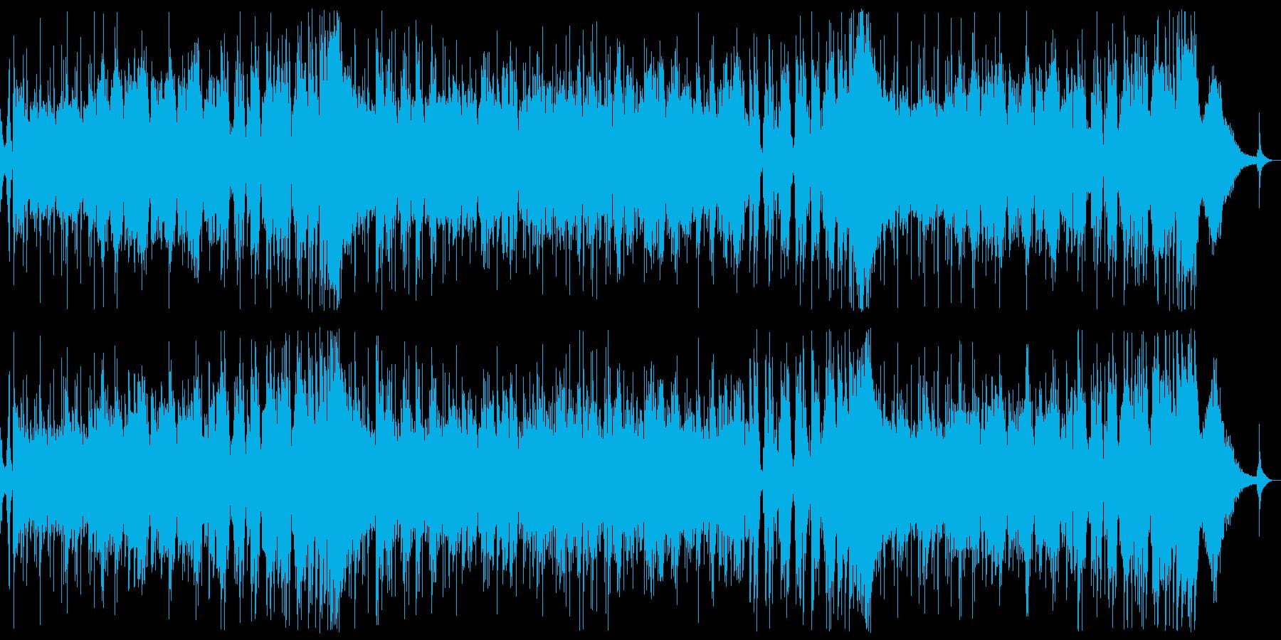 生演奏ぽい打ち込みジャズカルテットの再生済みの波形