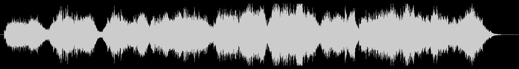 ハープ、チェロ、バイオリンの美しい曲の未再生の波形
