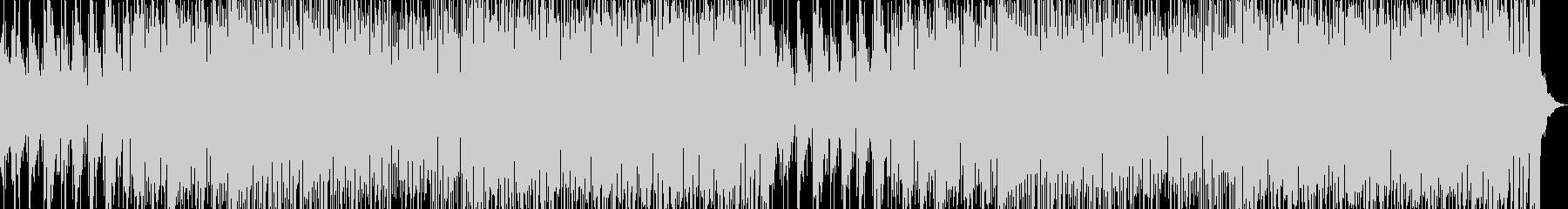 ノリ良いサックスの明るいEDM の未再生の波形