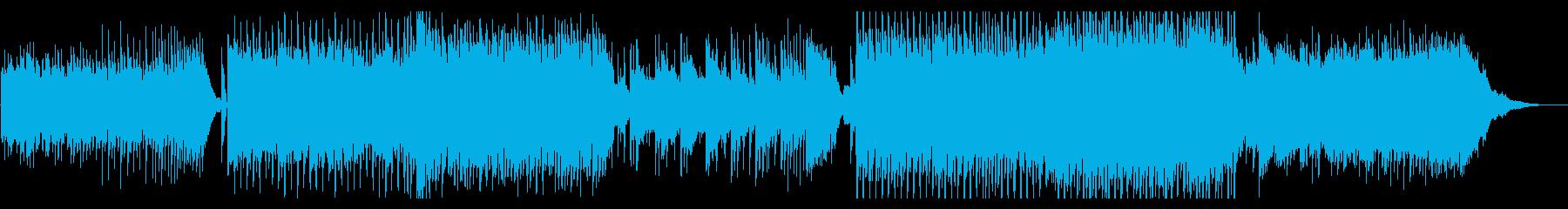 近未来_スタイリッシュなテクノ_クールの再生済みの波形