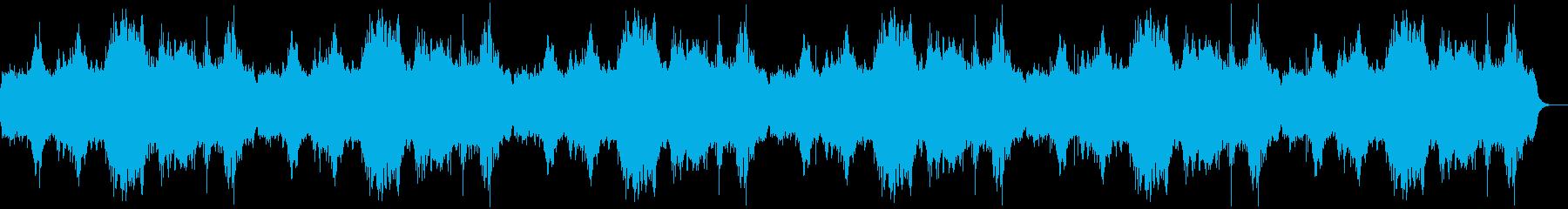 神秘的な森・神殿の環境音2の再生済みの波形