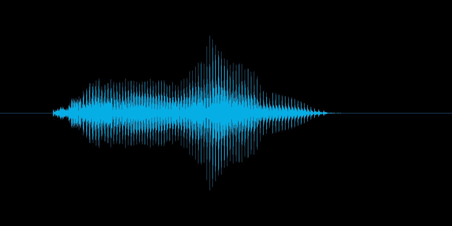 敬遠(けいえん)の再生済みの波形
