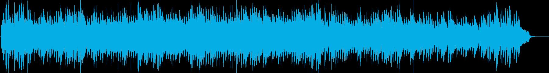 キュートでオーガニックな鍵盤と管弦ワルツの再生済みの波形