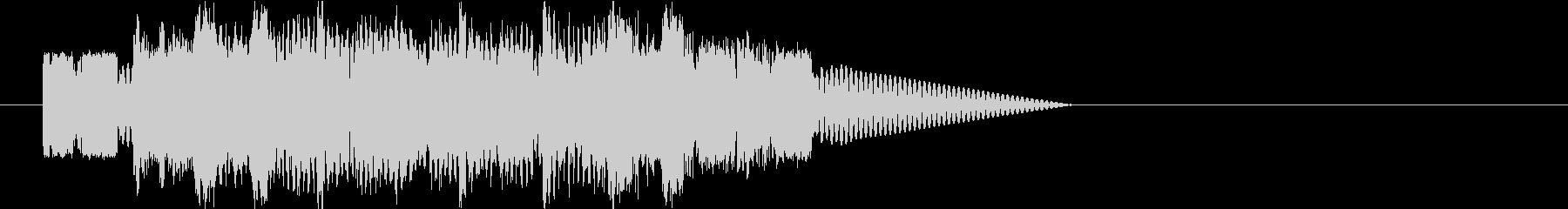 ロボットサウンド 機械音(ピコピコピコ)の未再生の波形