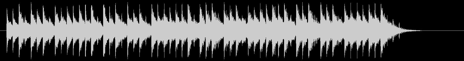 琴、三味線等のしっとり和風バラードBGMの未再生の波形
