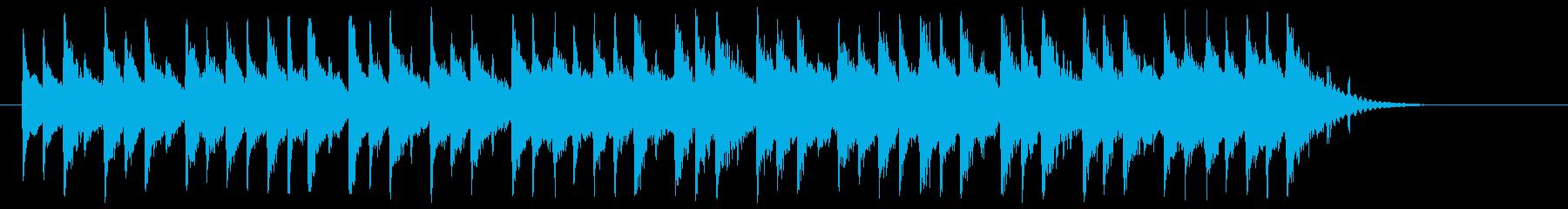 琴、三味線等のしっとり和風バラードBGMの再生済みの波形