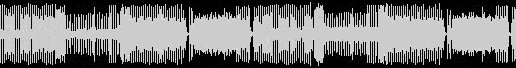 明るいレトロなテクノポップの未再生の波形