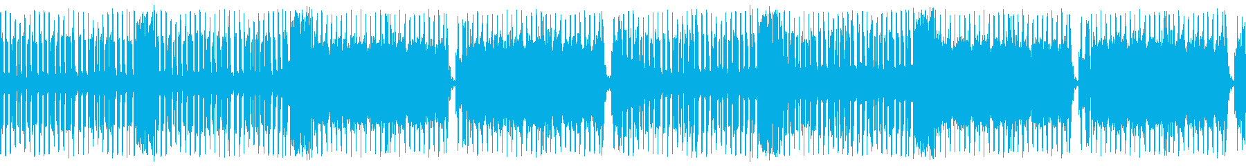 明るいレトロなテクノポップの再生済みの波形