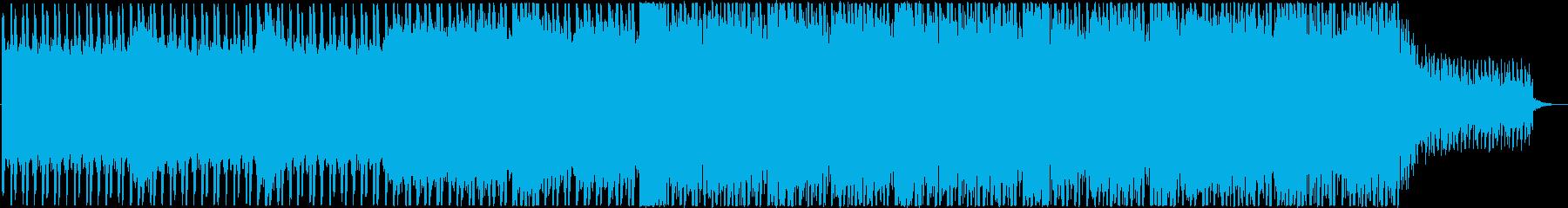 工場をイメージしたBGMの再生済みの波形