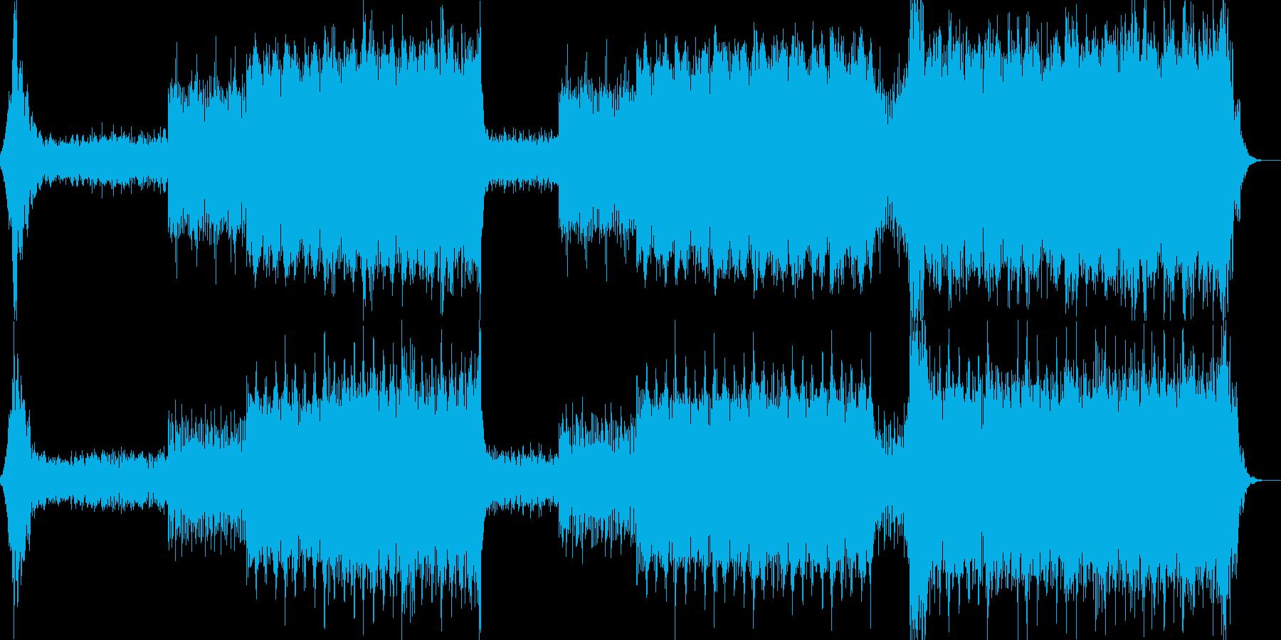 映画音楽、荘厳重厚、映像向け-06の再生済みの波形