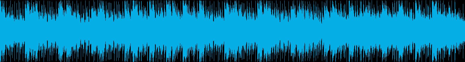 企業VPや映像に 爽やか疾走感_Loopの再生済みの波形