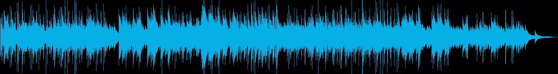 桜の咲く季節に聴きたい切ないピアノBGMの再生済みの波形