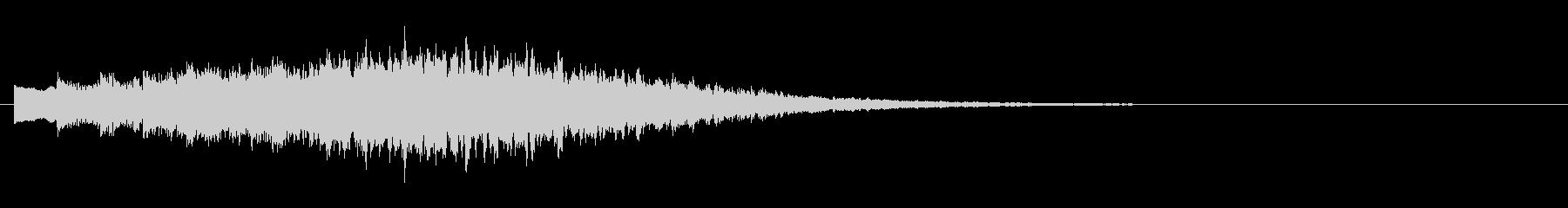 KANTシンセジングル011167の未再生の波形