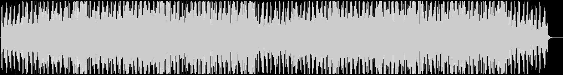 少し浮遊感のあるEDM(ダンス系)ですの未再生の波形