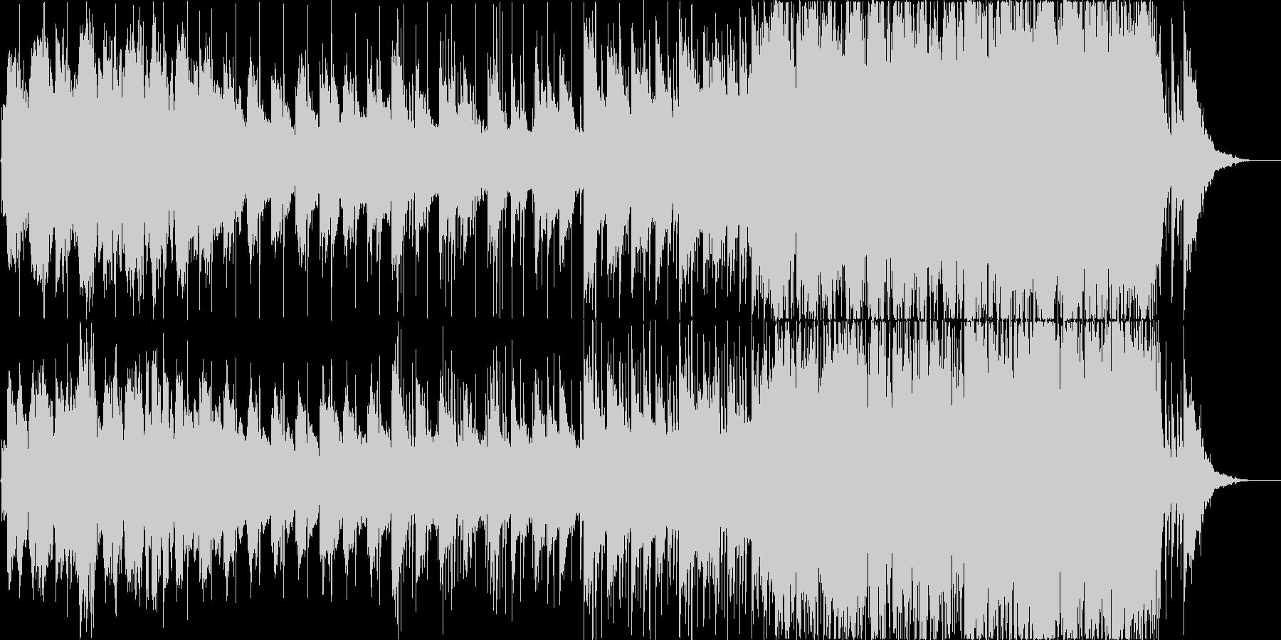美しく切ない和をイメージした感動バラードの未再生の波形
